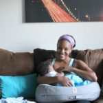 The 5 stages of learning to breastfeed