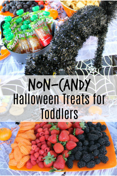 non-candy Halloween treats for toddlers