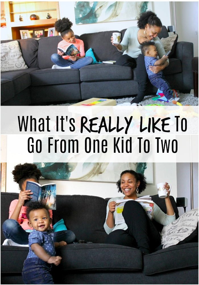 going from one kid to two
